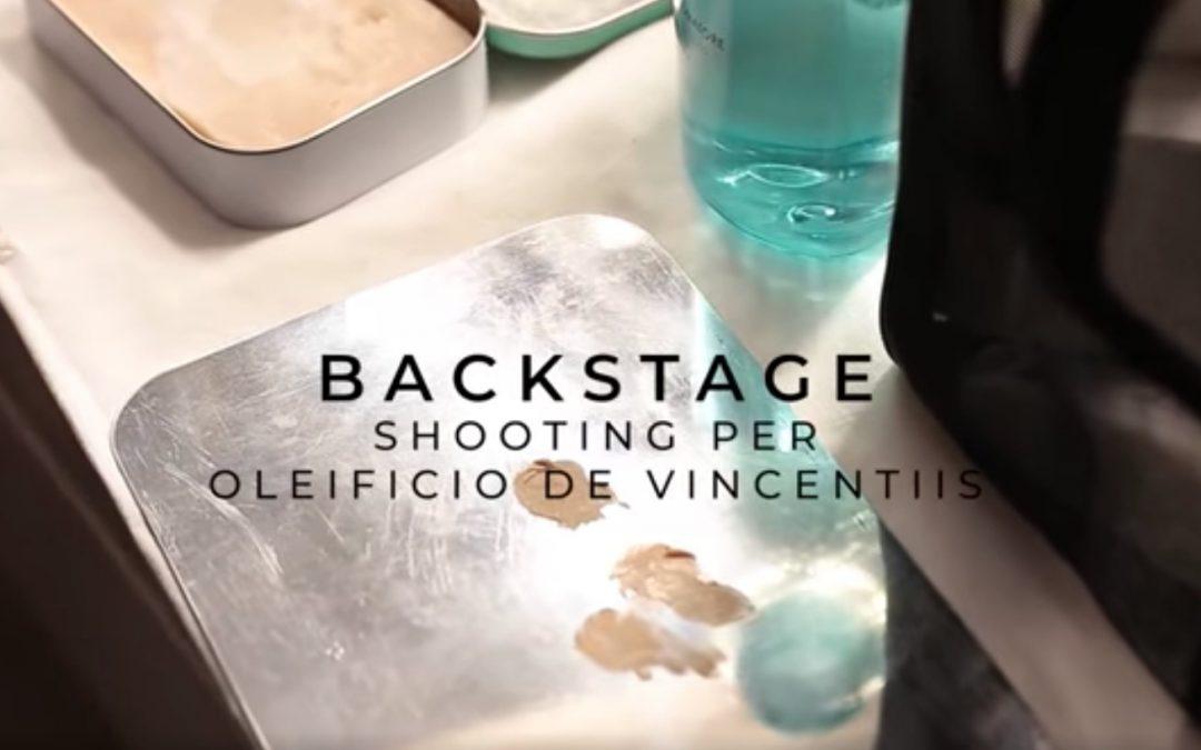 Backstage campagna di comunicazione 2021